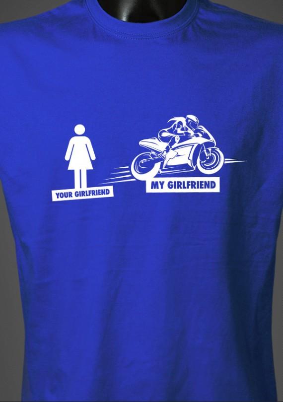 Girlfriend - Pánske Tričko