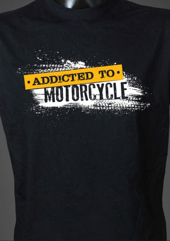 Addicted - Pánske Tričko