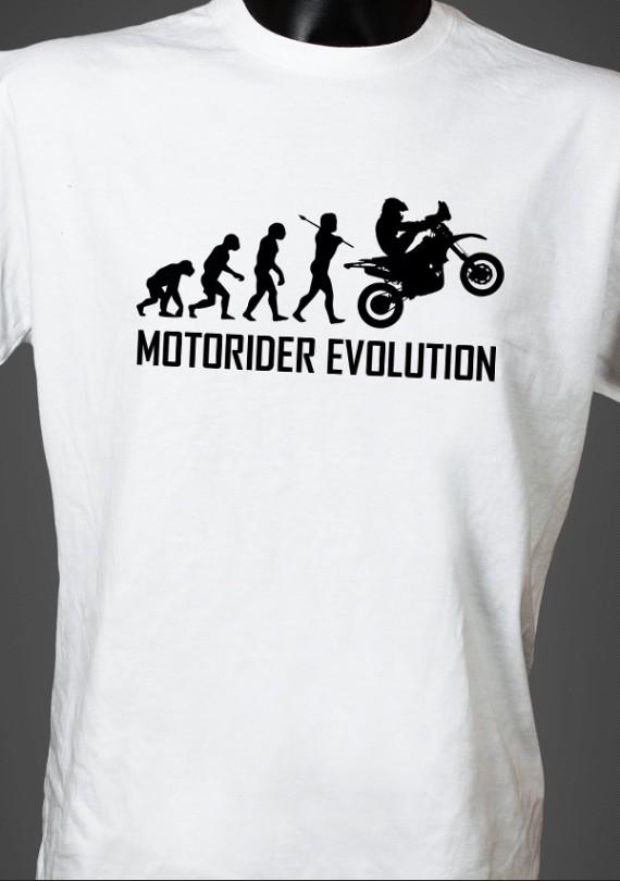 Motorider Evo - Pánske Tričko
