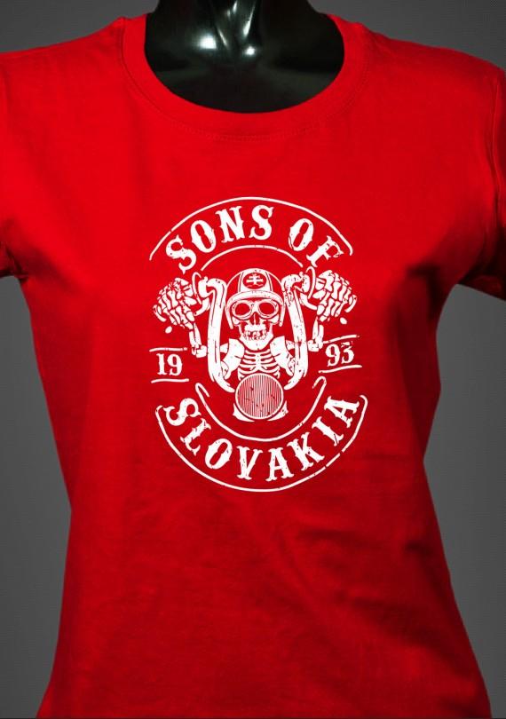 Sons of Slovakia - Dámske Tričko