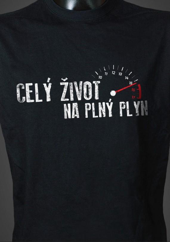 Na Plný Plyn - Pánske Tričko