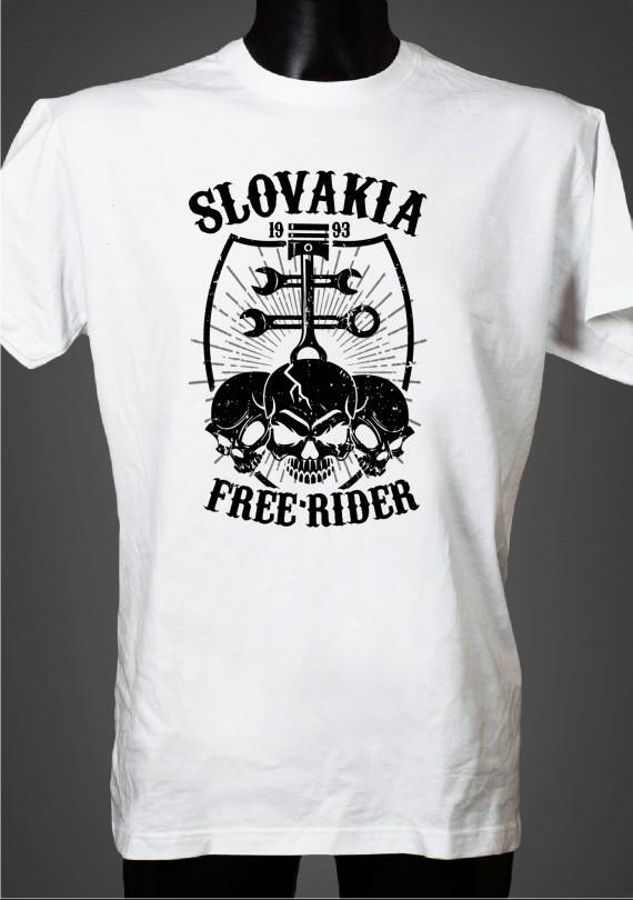 Free Rider - Pánske Tričko