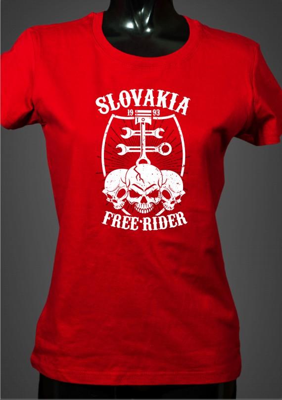 Free Rider - Dámske Tričko