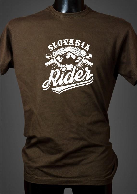 Slovakia Rider - Pánske Tričko
