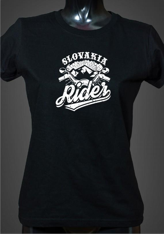 Slovakia Rider - Dámske Tričko