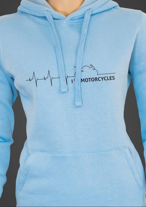 Moto Heartbeat - Dámska Mikina
