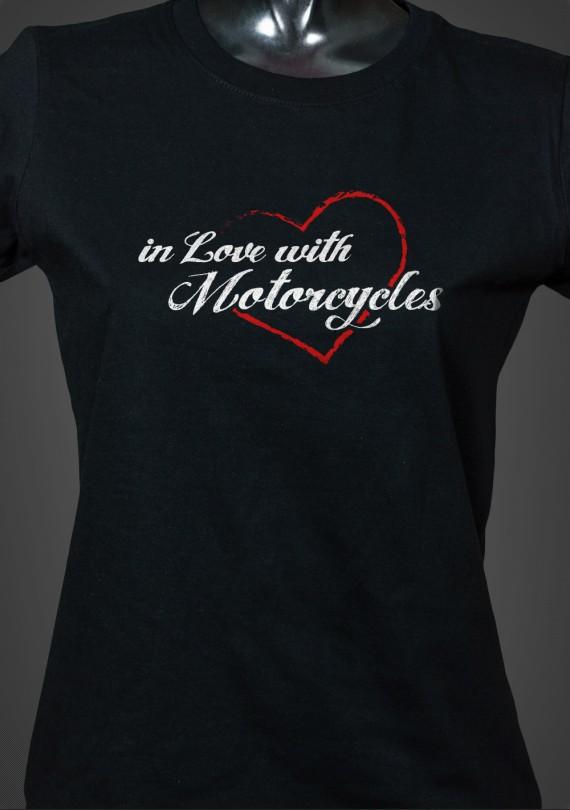 Love Moto - Dámske Tričko