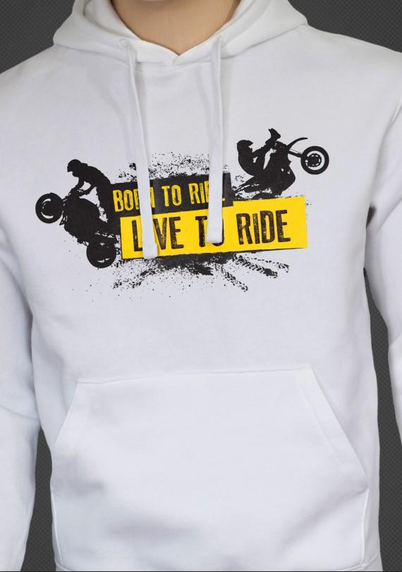 Live to Ride - Pánska Mikina
