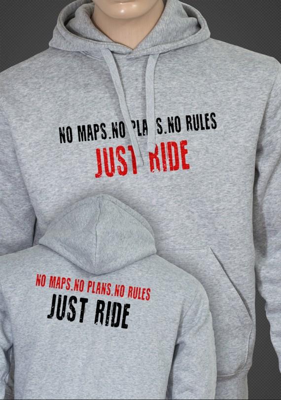 Just Ride - Pánska Mikina