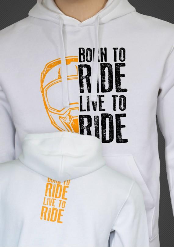 Born to Ride - Pánska Mikina
