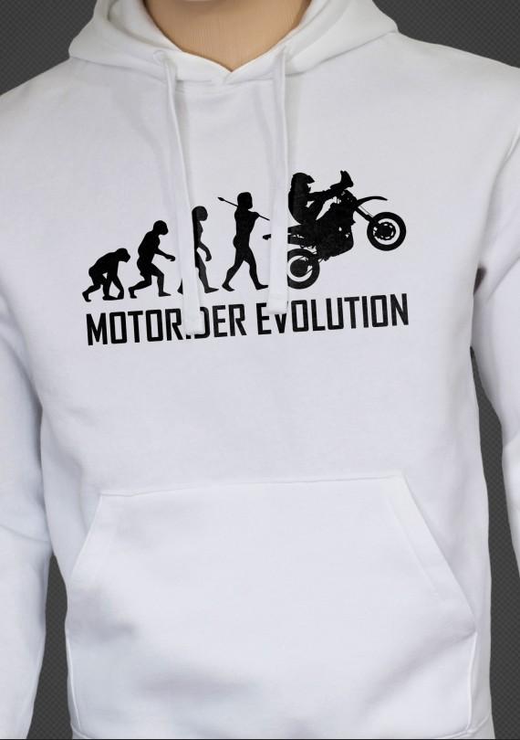 Motorider Evo - Pánska Mikina