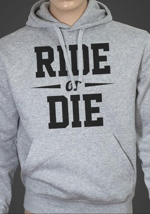 Ride or Die - Pánska Mikina