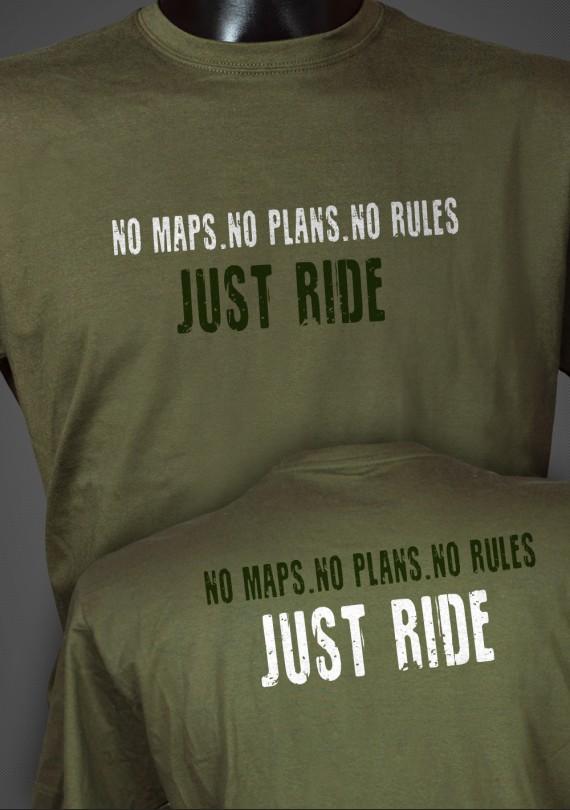 Just Ride - Pánske Tričko