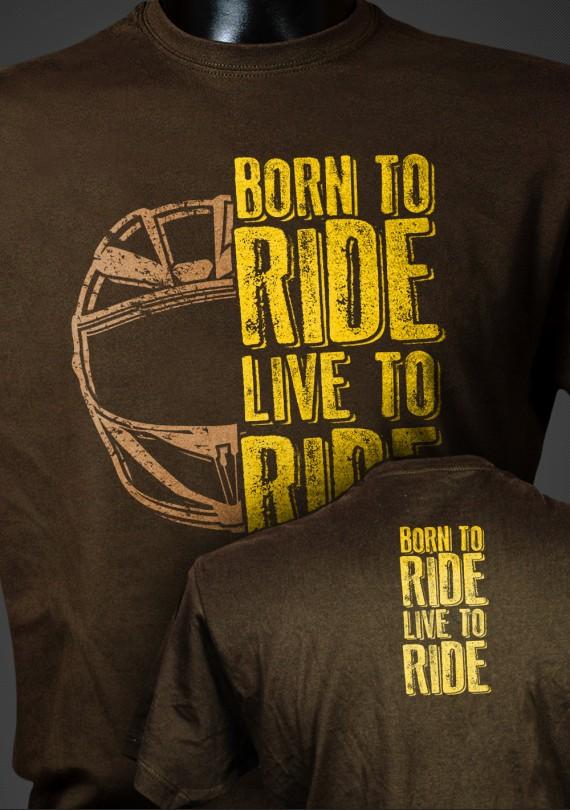 Born To Ride 2 - Pánske Tričko