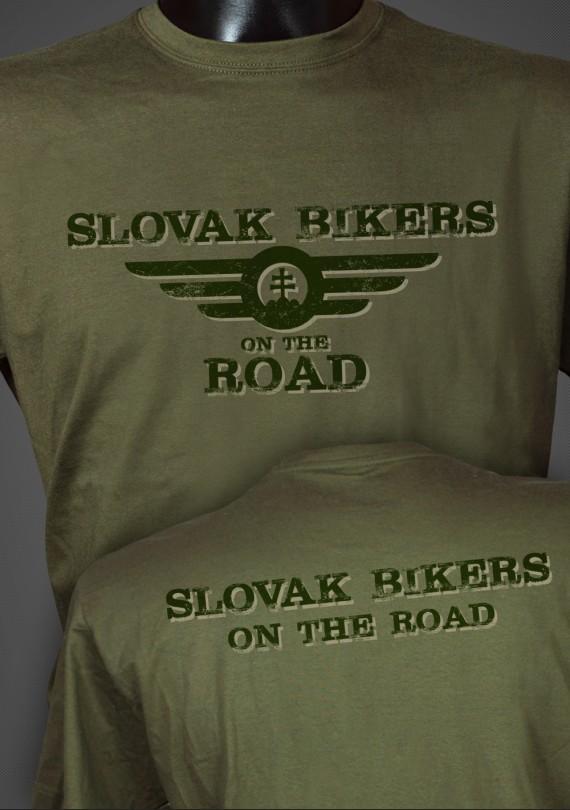 Slovak Bikers - Pánske Tričko