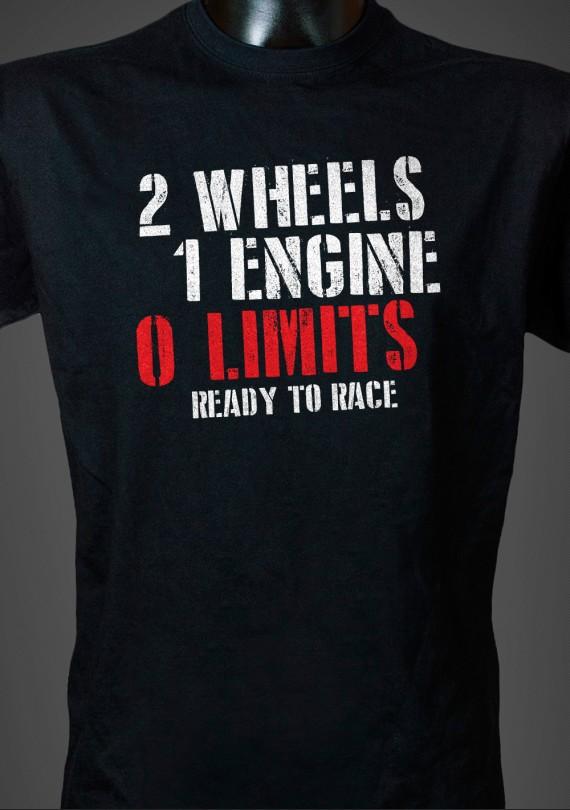 No Limits - Pánske Tričko