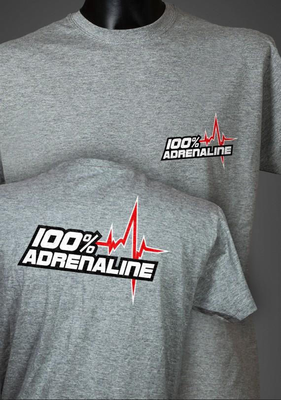 Adrenaline - Pánske Tričko