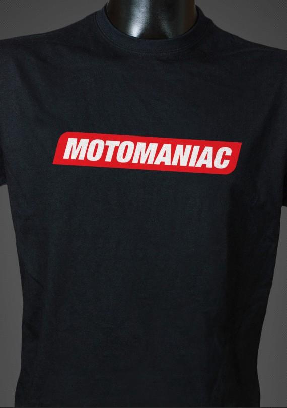 Motomaniac - Pánske Tričko
