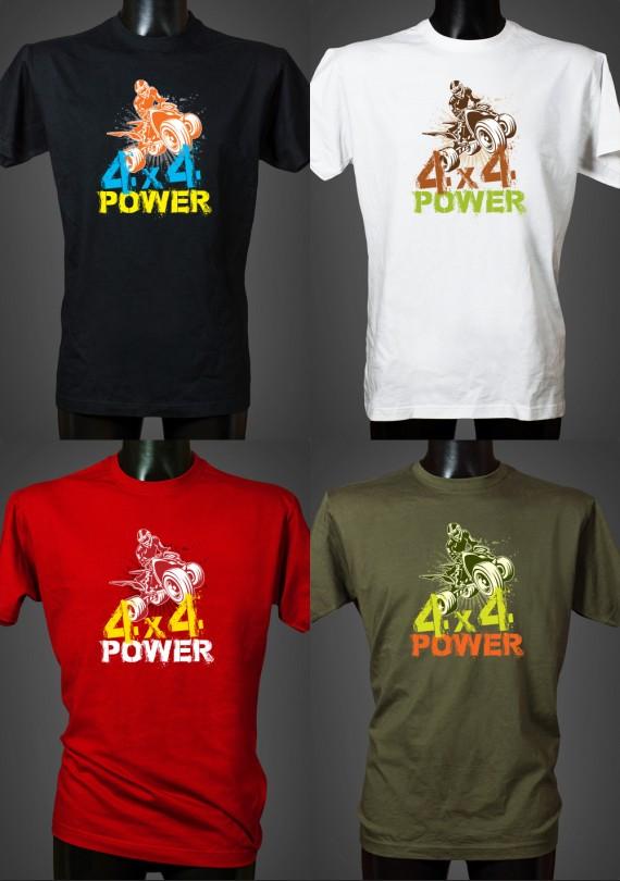 4x4 Power - Pánske Tričko