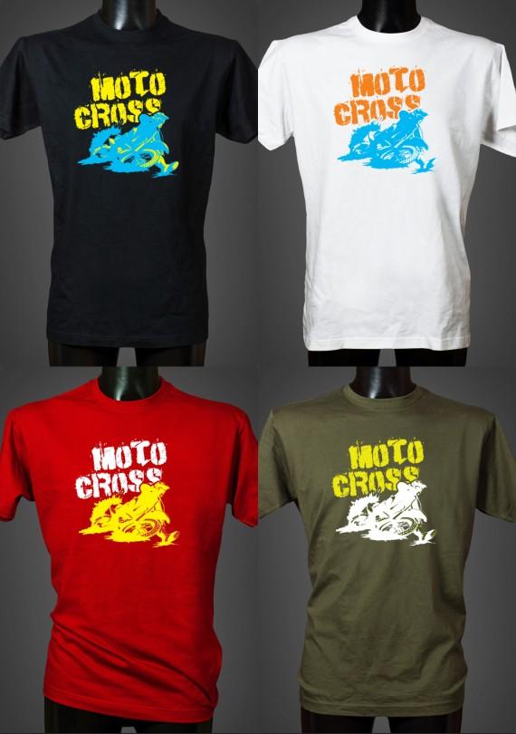 Motocross - Pánske Tričko