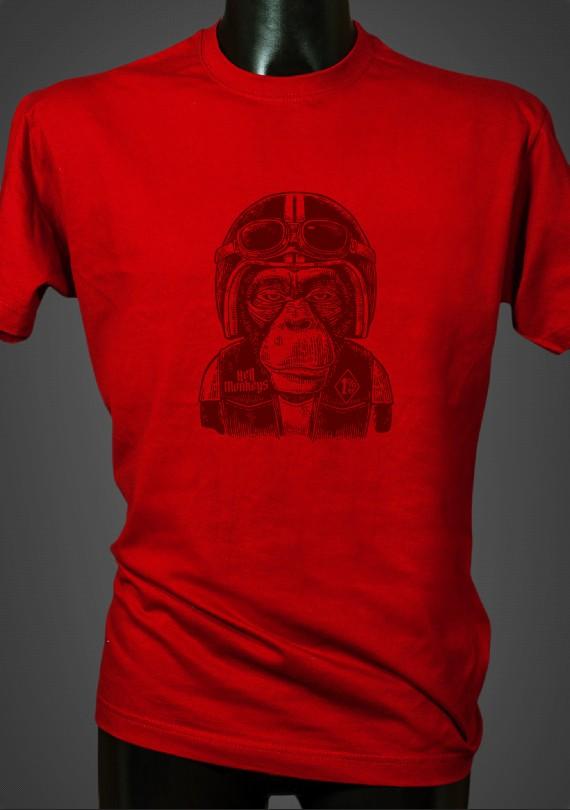 Monkey - Pánske Tričko