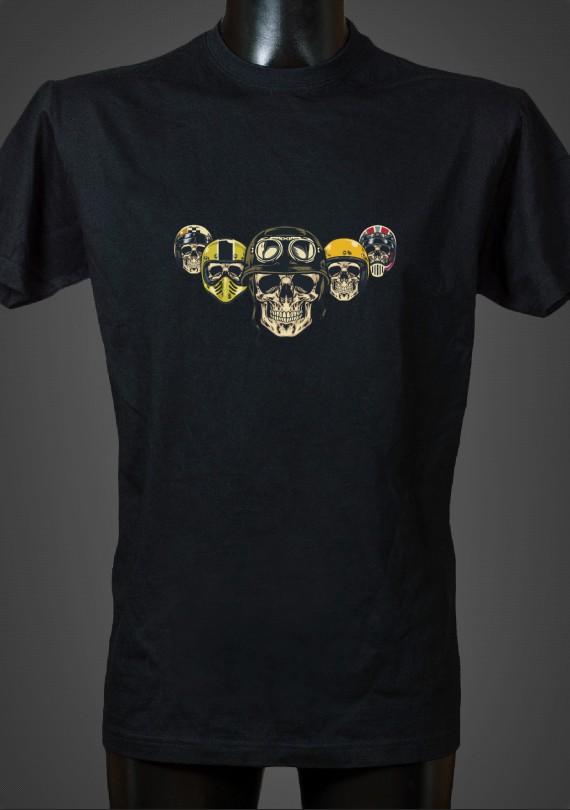 Skulls - Pánske Tričko