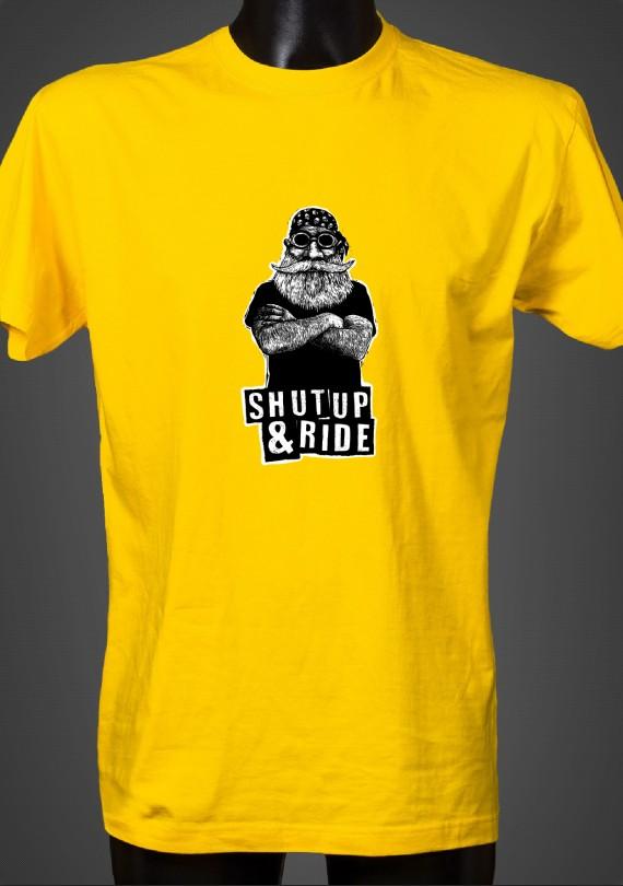 Shut Up - Pánske Tričko
